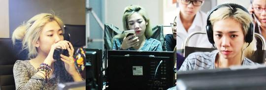 Nữ đạo diễn trẻ Luk Vân cũng có lúc nghiêm túc với công việc