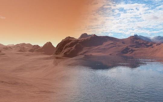 Sao Hỏa từng là hành tinh xanh giống trái đất - Ảnh 1.