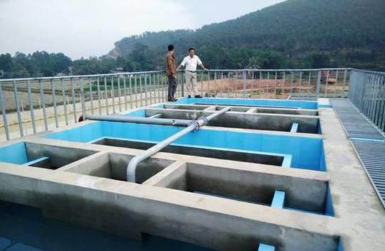 Dự án nước sách đi vào hoạt động giúp người dân địa phương không phải lo lắng khi sử dụng nguồn nước ngầm ô nhiễm