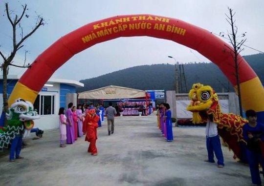Nhà máy nước sạch tư nhân được đầu tư gần 100 tỉ đồng tại Thanh Hóa đi vào hoạt động, phục vụ nước sinh hoạt cho hàng nghìn hộ dân