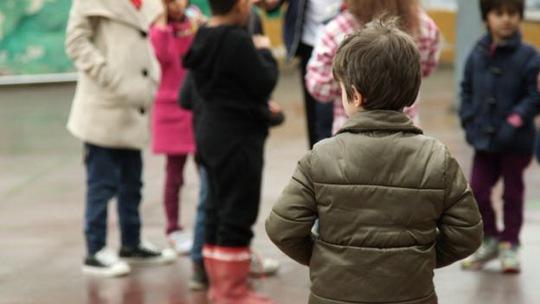Một số trẻ tị nạn cố gắng hòa nhập tại trường học ở Hy Lạp Ảnh: BBC