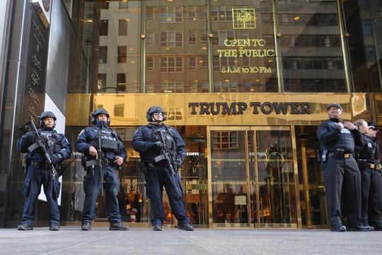 Theo ABC New, chiếc laptop bị lấy trộm có chứa sơ đồ các phòng của tòa tháp Trump. Ảnh: New York Post