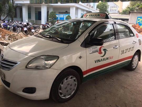 Taxi hãng Vinasun trong vụ cướp