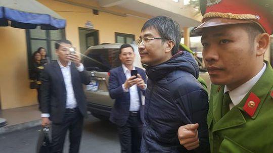 Cận cảnh khuôn mặt bị cáo Giang Kim Đạt- người đã nhanh chân trốn ra nước ngoài trước khi bị bắt