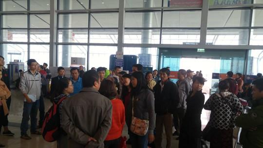 Hành khách tại sân bay Cát Bi
