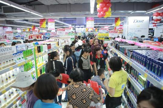 Hàng ngàn mặt hàng tiêu dùng tại siêu thị VinMart