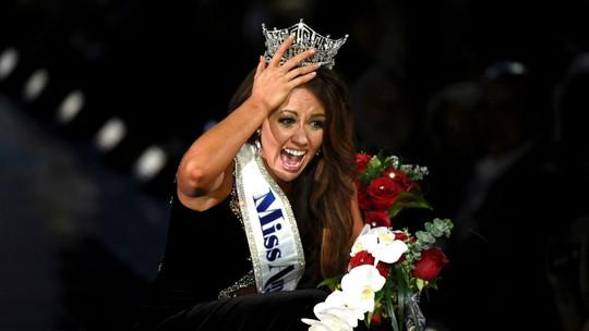 Cận cảnh nhan sắc Hoa hậu Mỹ 2018 - Ảnh 4.