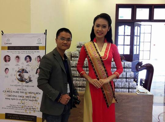 Ngọc Vân muốn thực hiện nhiều dự án nhằm giúp đỡ người dân Đắk Lắk