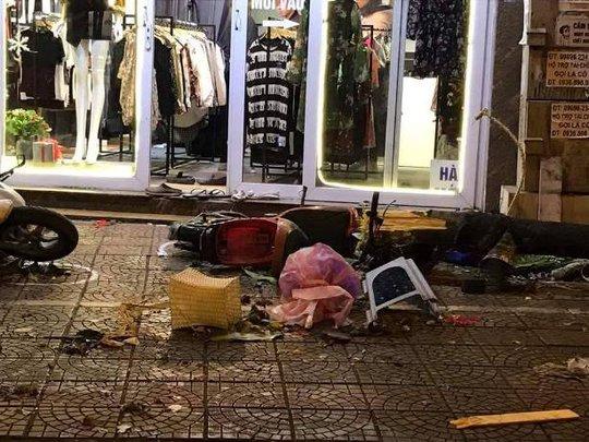 Vụ tai nạn khiến nhiều người bị thương - Ảnh: CTV