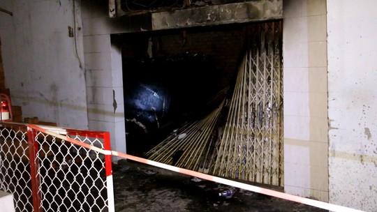 Hiện trường xảy ra vụ cháy ở quận Bình Tân làm 4 người thiệt mạng