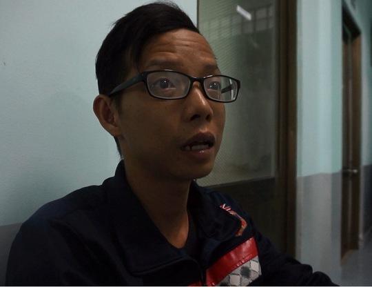 Anh Lữ Thanh Lâm kể lại sự việc