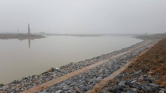Tỉnh Bắc Ninh phải tốn 30 tỉ đồng khắc phục hậu quả của hút cát - Ảnh chụp chiều 15-3