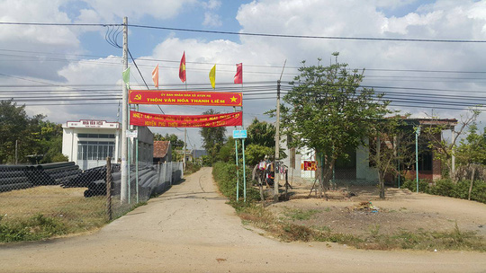 Thôn Thanh Liêm nơi xảy ra vụ việc