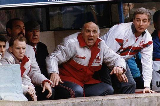 Moran dẫn dắt Liverpool năm 1992