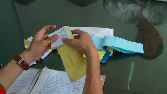 Các giấy tờ ghi cá độ