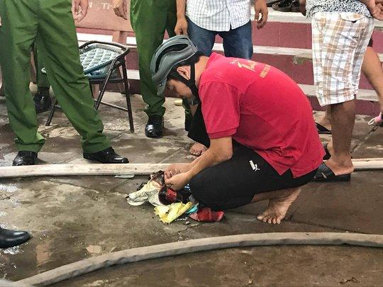 Vật dụng của chị Nguyễn Thị Thủy được tìm thấy
