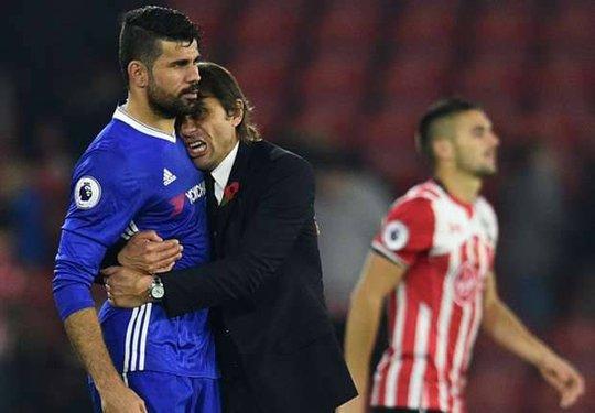 Conte luôn hài lòng mỗi khi Diego Costa chơi cống hiến - Ảnh 2.