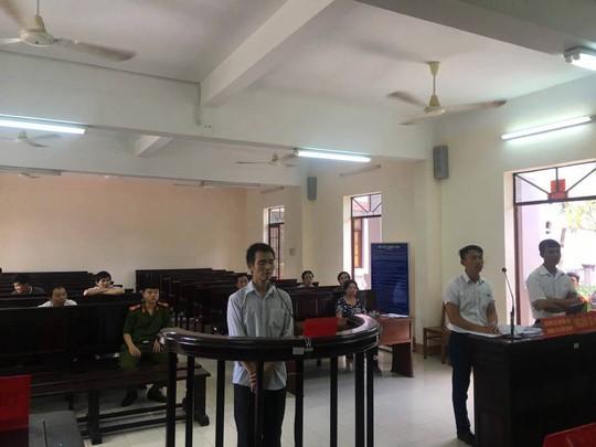 Lê Đình Nghị tại phiên xét xử sơ thẩm