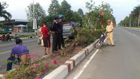 """Đường vắng, ô tô """"bay"""" đại náo tại TP Biên Hòa"""