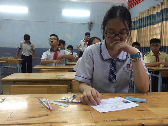 TP HCM công bố chính thức chỉ tiêu tuyển sinh lớp 10 công lập - Ảnh 1.