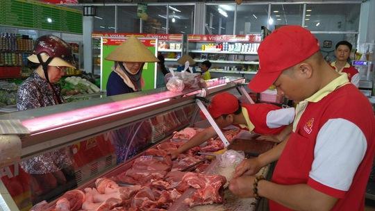 Đến lượt Vissan giảm giá bán thịt heo - Ảnh 1.