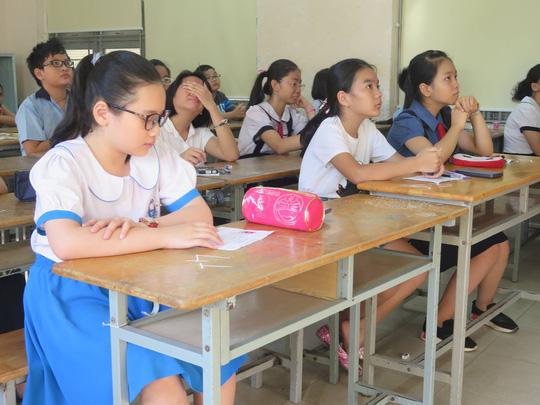 58 điểm mới trúng tuyển lớp 6 Trường chuyên Trần Đại Nghĩa - Ảnh 1.