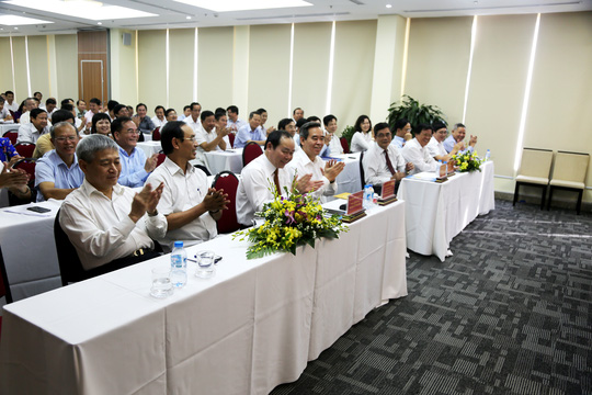 Ông Nguyễn Ngọc Bảo thay ông Võ Kim Cự làm Chủ tịch Liên minh HTX - Ảnh 1.