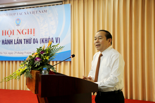 Ông Nguyễn Ngọc Bảo thay ông Võ Kim Cự làm Chủ tịch Liên minh HTX - Ảnh 3.