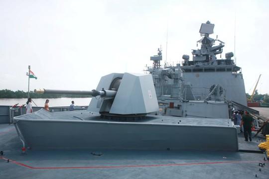 Tàu Hải quân Ấn Độ thăm thành phố Hải Phòng - Ảnh 8.