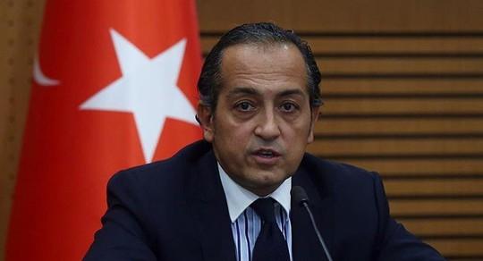 Phát ngôn viên Bộ Ngoại giao Thổ Nhĩ Kỳ Huseyin Muftuoglu. Ảnh: MFA