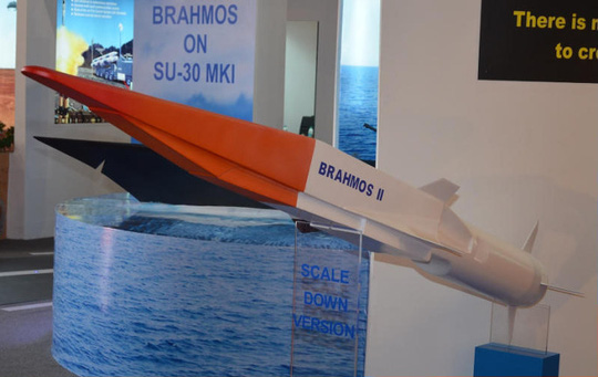 Zircon được cho là phiên bản phát triển từ tên lửa Brahmos. Ảnh: MISSILES2GO