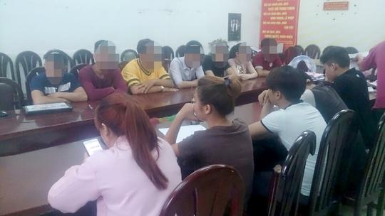 14 đối tượng được công an quận Tân Bình, TP HCM triệu tập.