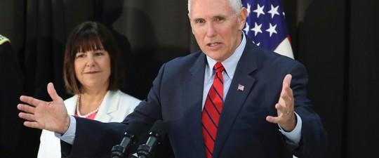 Phó Tổng thống Mỹ Mike Pence. Ảnh: AP