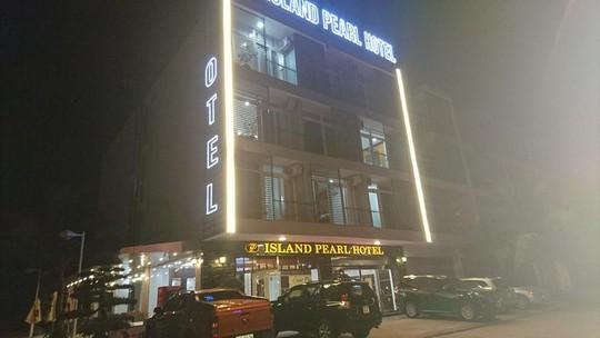 Khách sạn Island Pearl Tuần Châu, nơi xảy ra vụ hoả hoạn
