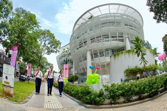 Nhà thiếu nhi TP HCM gồm 5 tầng với tổng vốn đầu tư 197,8 tỉ đồng.