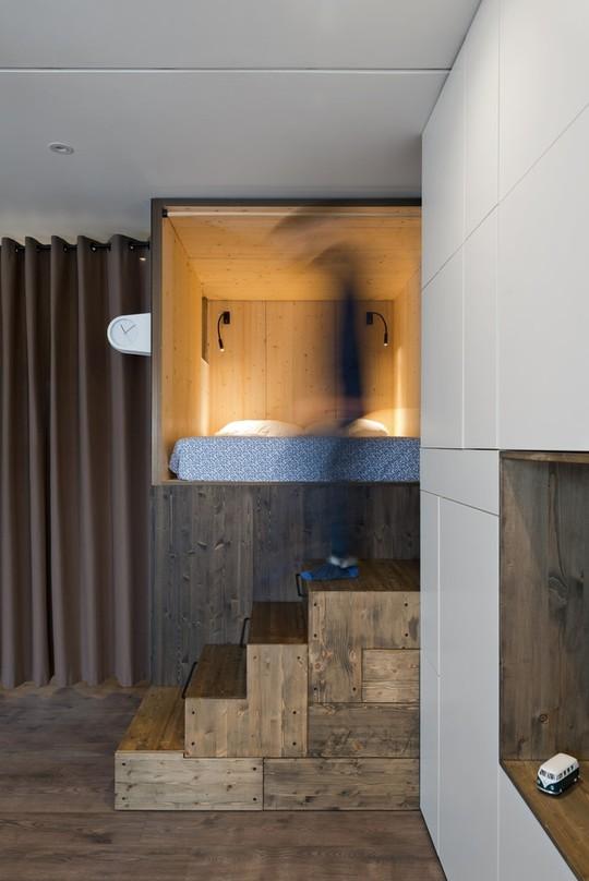 Căn hộ 35 m2 siêu đẹp với hộp ngủ tiết kiệm diện tích - Ảnh 2.