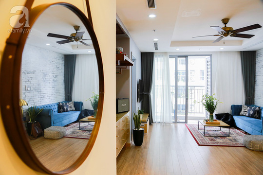 Chi 300 triệu để biến căn hộ thành nơi nghỉ dưỡng ngay tại Hà Nội - Ảnh 2.