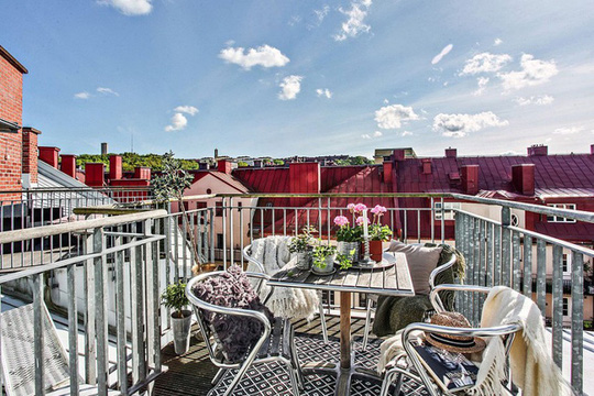 Chiêm ngưỡng căn hộ áp mái có giá 17 tỉ đồng - Ảnh 2.