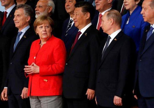 Những khoảnh khắc thú vị tại Hội nghị G20 - Ảnh 1.
