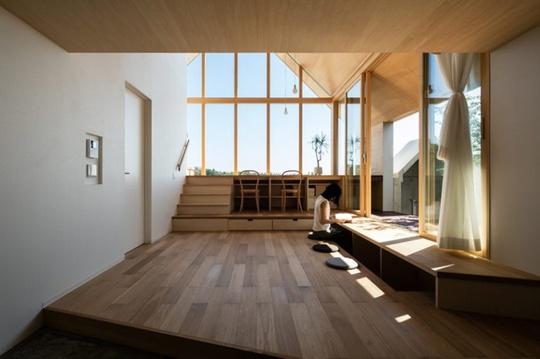 Nhà gỗ cấp 4 đẹp như biệt thự nhờ thiết kế tối giản - Ảnh 3.