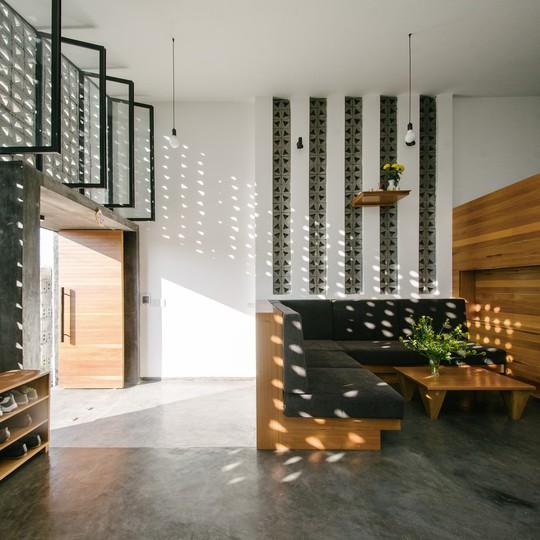 Căn nhà một tầng với thiết kế nổi bật - Ảnh 2.