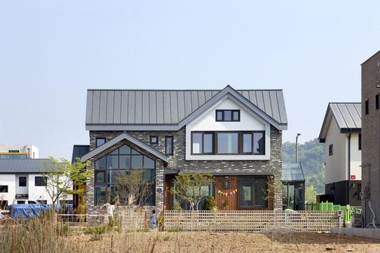 Ngôi nhà với phong cách tối giản đẹp như trong phim ở Hàn Quốc - Ảnh 2.