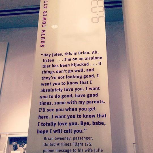 Cuộc điện thoại đau lòng của người chồng vào ngày 11-9 - Ảnh 1.