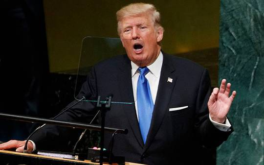 Ông Donald Trump dọa hủy diệt Triều Tiên, Hàn - Nhật im lặng - Ảnh 1.