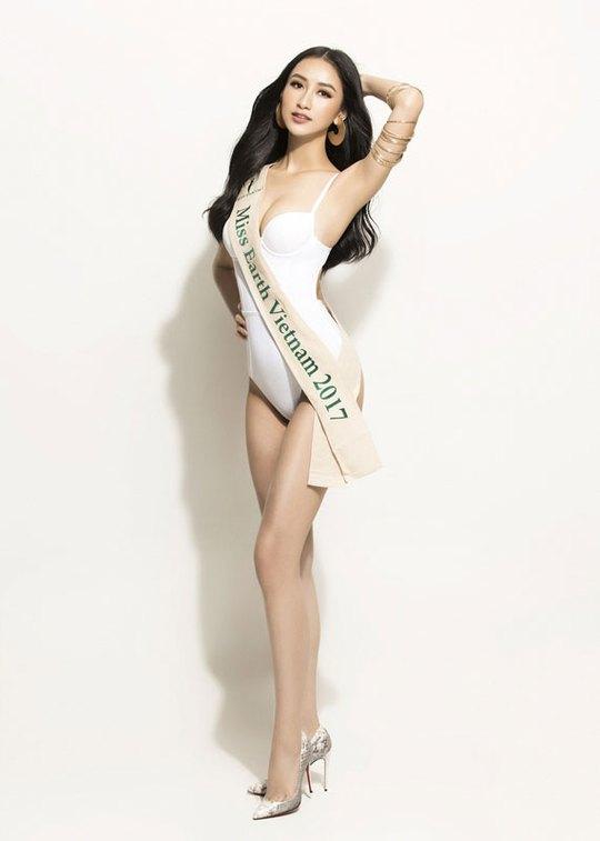 Hà Thu đứng đầu tốp 10 sáng giá ngôi vị Hoa hậu Trái đất - Ảnh 4.