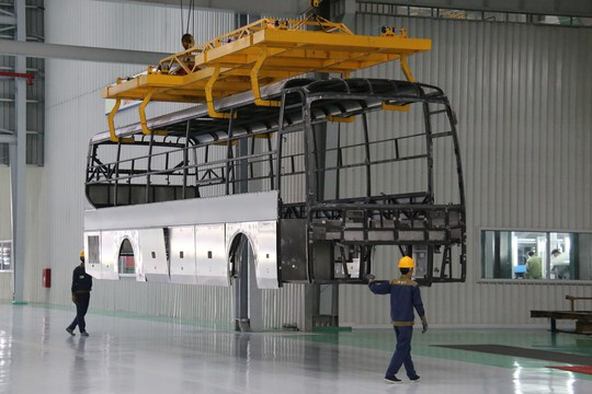 Trường Hải xuất khẩu gần 1.200 xe bus sang Thái, Đài Loan, Philippines, Campuchia - Ảnh 5.
