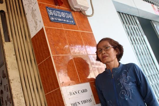 Một căn nhà ở quận Bình Tân, TP HCM có địa chỉ siêu dài.