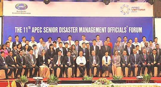 Quan chức cấp cao APEC bàn về quản lý thiên tai - Ảnh 1.