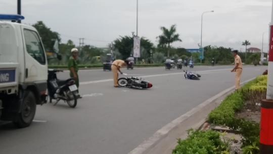 Một người phóng nhanh, 4 người bị thương trên Quốc lộ 1 - Ảnh 1.