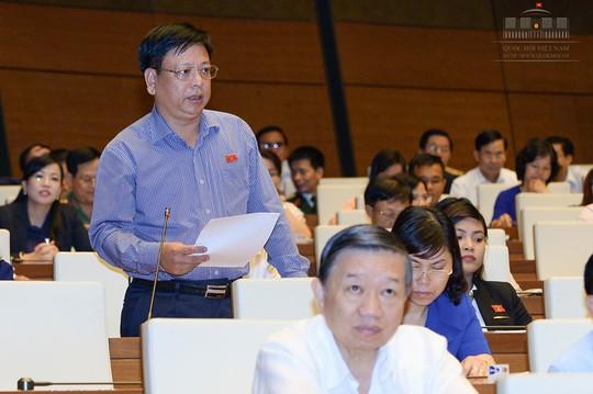 Đại biểu Quốc hội Nguyễn Trường Giang lo ngại các quy hoạch chuyên ngành khi tích hợp sẽ gây tác động lớn - Ảnh: Nguyễn Nam